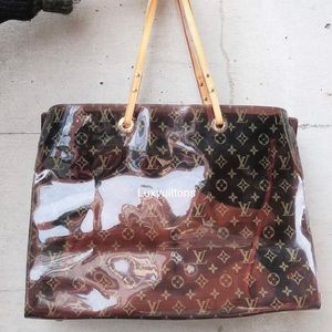 💎✨EXTRA LARGE✨💎 Clear tote bag by Louis Vuitton